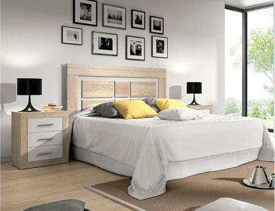 Dormitorio matrimonio cambrian blanco