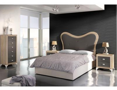Dormitorio matrimonio cambrian grafito 13 11