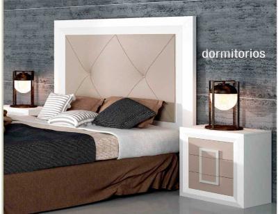 Dormitorio matrimonio con beig