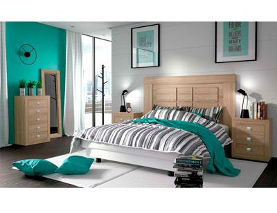 Dormitorio matrimonio moderno 12 cambrian