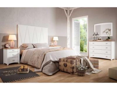 Dormitorio Matrimonio Rustico Blanco : Dormitorio de matrimonio wind de estilo colonial en blanco 23212