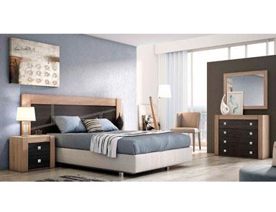 Dormitorio moderno cambrian ceniza 05