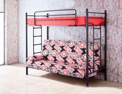 Litera con sofa cama1