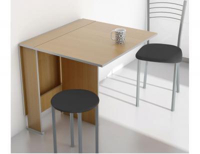 Mesa cocina convertible haya