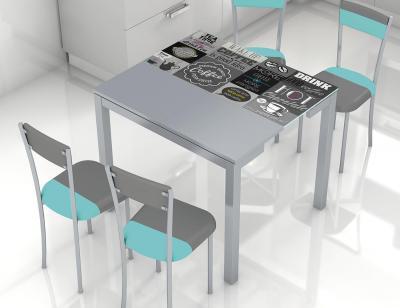 Mesa cocina extensible 225 tea1