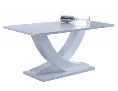 Mesa comedor ext matte blanca