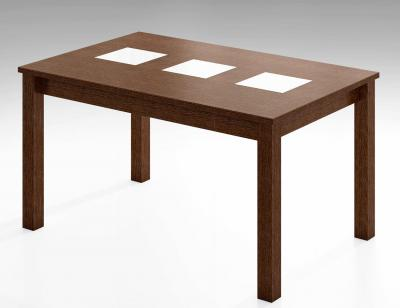 Mesa comedor extensible wengue