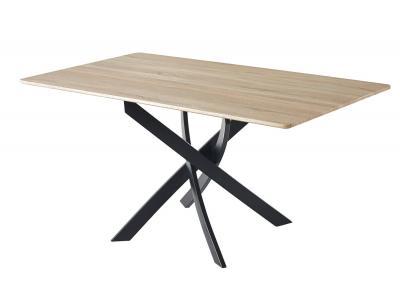 Mesa comedor fija zen roble negro