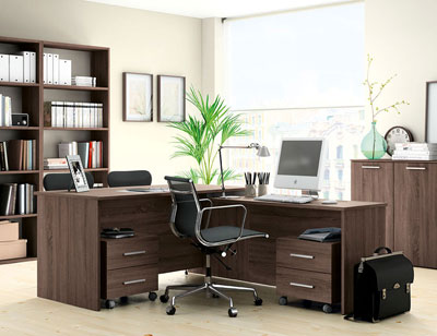 Mesa con suplemento oficina despacho britannia