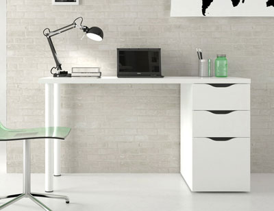 Mesa ordenador escritorio reversible 2