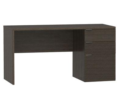 Mesa pc escritorio 044 wengue 3 cajones