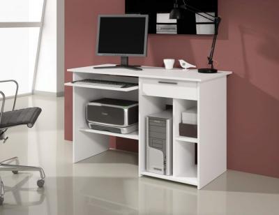 Mesa pc ordenador blanco