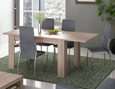 Mesa salon comedor madera nelson