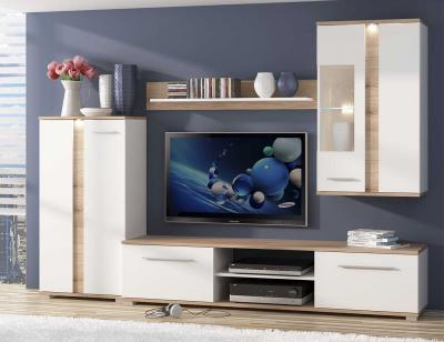 Mueble de salon cambrian luves leds