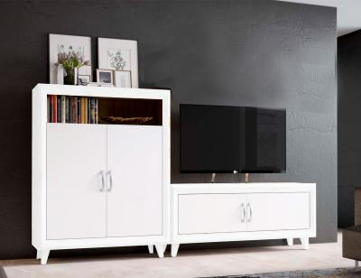 Mueble salon blanco claudia1