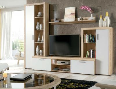 Mueble salon comedor cambrian blanco nobel