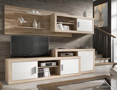 Mueble salon comedor cambrian blanco71