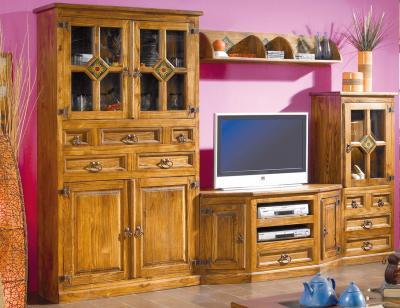 Mueble salon comedor madera jalisco girasol guadalajara 283