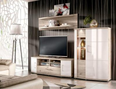Mueble salon luces leds nelson 1