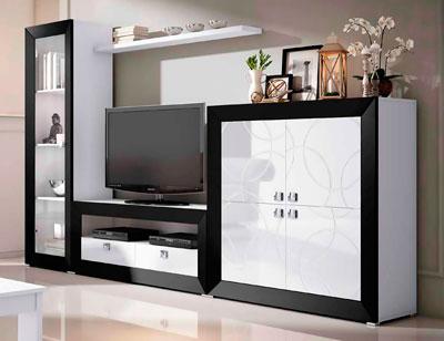 Mueble salon moderno 03