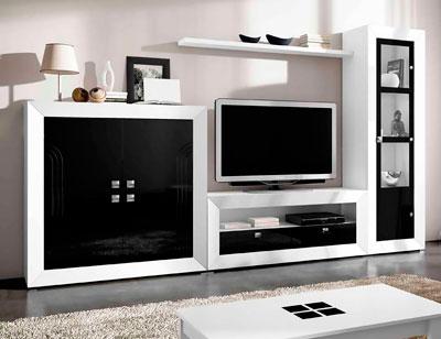 Mueble salon moderno 06