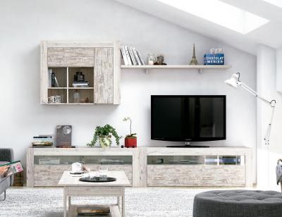 Mueble salon moderno nature