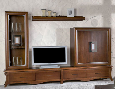 Mueble salon neoclasico color 150