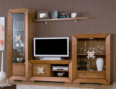 Mueble salon neoclasico color 152 tirador 631
