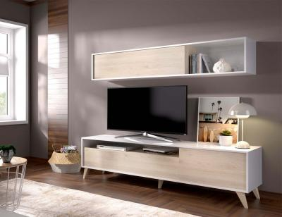 Mueble salon nordico1