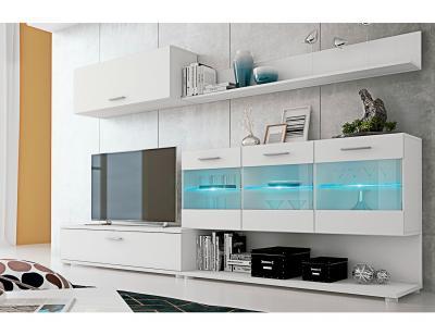 Mueble salon zafiro blanco1
