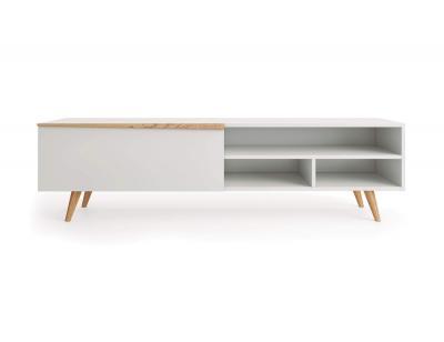 Mueble tv blanco aspen