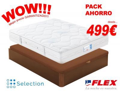 Pack ahorro flex canape