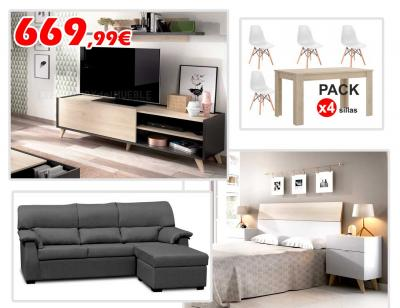 piso estilo nordico Piso Completo Estilo Nrdico 06 30374 Factory Del Mueble