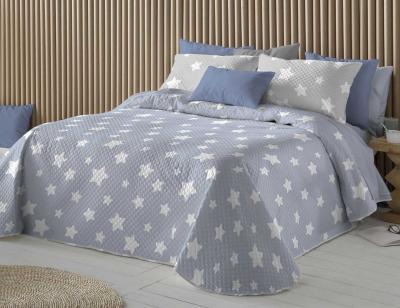 Ropa cama chester azul estrella