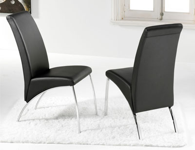 Silla de estudiante princesa factory del mueble utrera for Sillas comedor patas cromadas