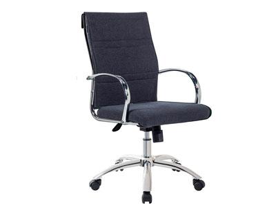 Silla despacho oficina ruedas gris marengo