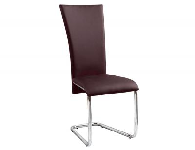 Silla polipiel rebote chocolate1
