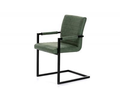 Silla tapizada verde  dc 520