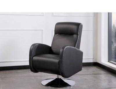 Sillon giratorio negro living