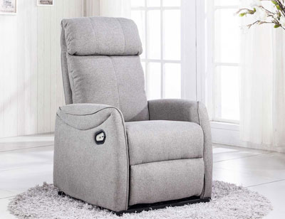 Sillon relax levanta personas power lift ceniza 3