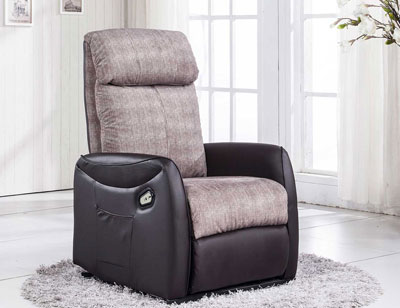 Sillon relax levanta personas power lift vison choco