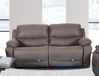 Sofa 3 plazas 2 asientos relax muelles
