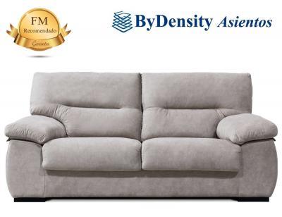 Sofa de 3 plazas tapizado en polipiel de alto confort for Sofas alta calidad