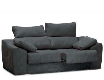 Sofa 3 plazas asientos delizantes calidad allegra21 31
