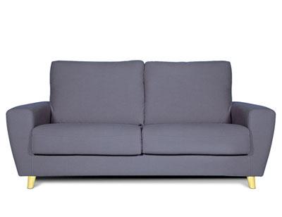 Sofa 3 plazas moderno lila