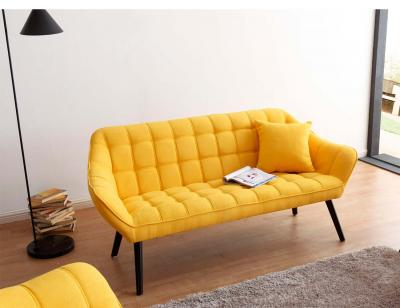 Sofa 3p color mostaza 3