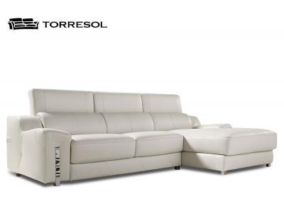 Sofa alborada torresol piel