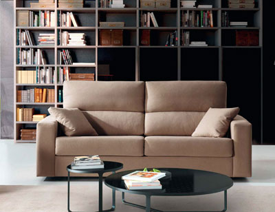 Sofa cama apertura italiano gran calidad nuria 1