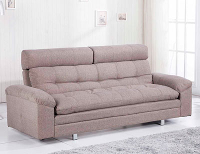 Sofa cama chaiselongue elegance moka 21