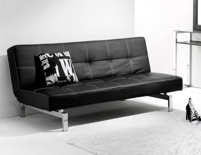 Sofa cama click clak negro 1